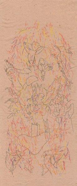 St Gerorges terrassant le Dragon (hommage à Paolo Uccello)